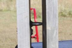 Ballistic-test-penetrator-between-plates