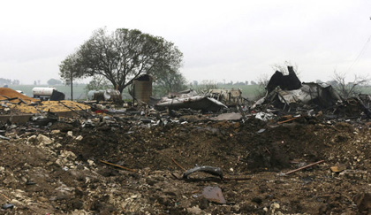 West, TX fertilizer plant after explosion